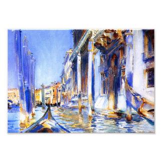 John Singer Sargent Rio dell'Angelo Venice Print Photo Print