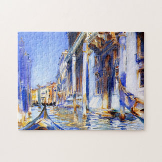 John Singer Sargent Rio dell'Angelo Venice Jigsaw Puzzles