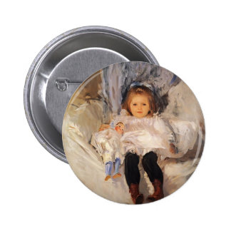 John Singer Sargent- Ruth Sears Bacon Pinback Button