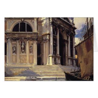 John Singer Sargent- Santa Maria della Salute Greeting Card