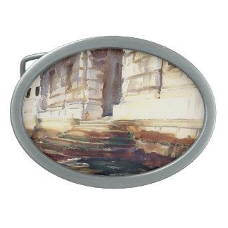 John Singer Sargent- Steps of a Palace Belt Buckles