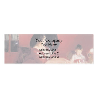 John Singer Sargent- The Birthday Party Business Card Templates
