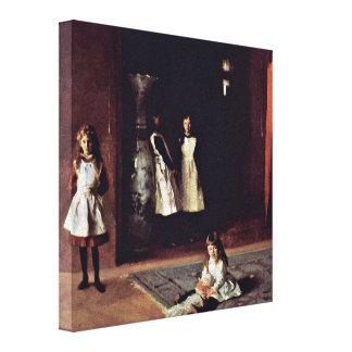 John Singer Sargent - The Boit daughters Canvas Print