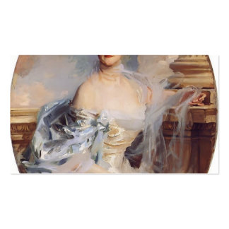 John Singer Sargent- The Countess of Essex Business Card Templates