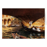 John Singer Sargent- The Rialto, Venice Greeting Card