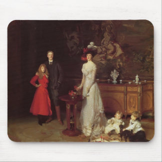 John Singer Sargent- The Sitwell Family Mouse Pad