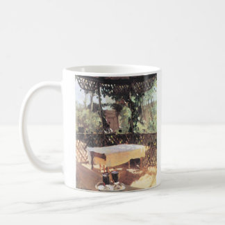 John Singer Sargent - Two wine glasses Classic White Coffee Mug