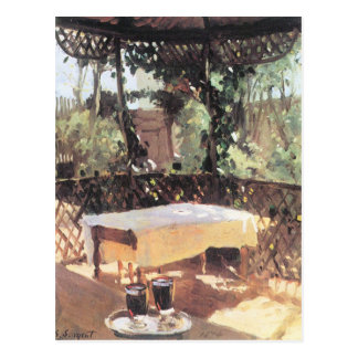 John Singer Sargent - Two wine glasses Postcard
