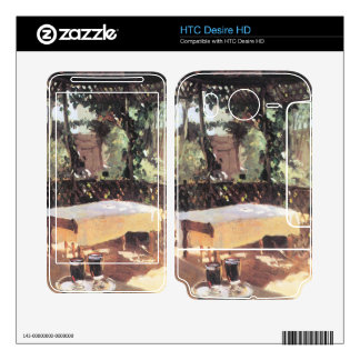 John Singer Sargent - Two wine glasses Decals For HTC Desire HD