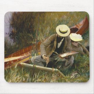 John Singer Sargent - un estudio de las Hacia Alfombrillas De Ratones
