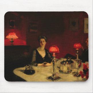 John Singer Sargent - una tabla de cena en la Alfombrilla De Ratones