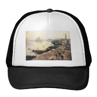 John Singer Sargent - Venecia en mún tiempo Gorros