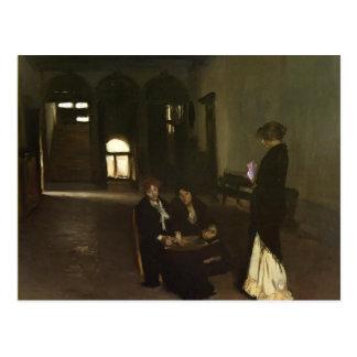 John Singer Sargent- Venetian Bead Stringers Post Card