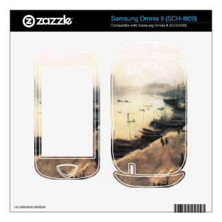 John Singer Sargent - Venice in bad weather Samsung Omnia II Skin