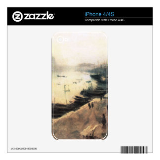 John Singer Sargent - Venice in bad weather Skins For iPhone 4S
