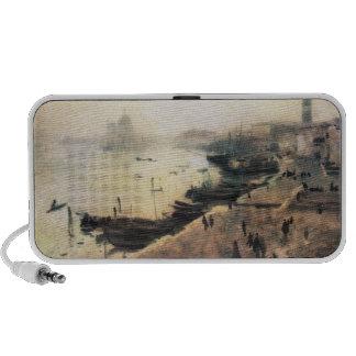 John Singer Sargent - Venice in bad weather Mp3 Speakers