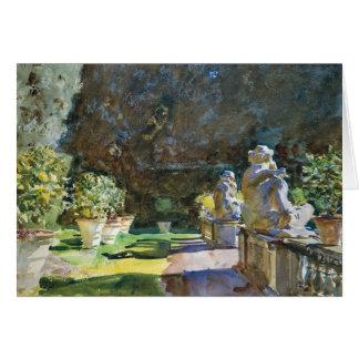 John Singer Sargent - Villa di Marlia, Lucca Card