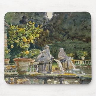 John Singer Sargent - Villa di Marlia, Lucca Mouse Pad