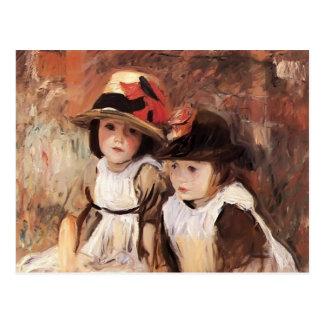 John Singer Sargent- Village Children Postcard