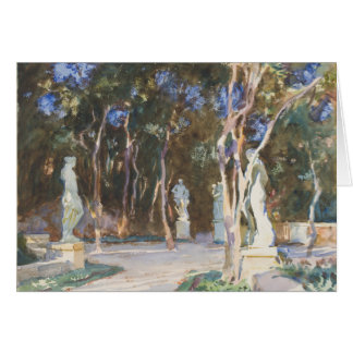 John Singer Sargent Watercolor - Landscape Stationery Note Card