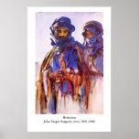 John Singer Sargent's Bedouins Poster