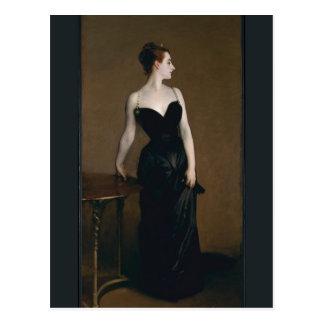 John Singer Sargent's Portrait of Madame X Postcard