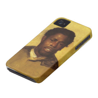 John Singleton Copley- Head of a Negro iPhone 4 Cases