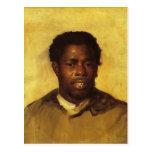 John Singleton Copley- Head of a Negro Postcard