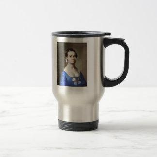 John Singleton Copley:  Lucretia Hubbard Towsend 15 Oz Stainless Steel Travel Mug