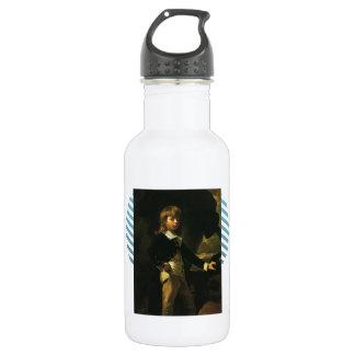 John Singleton Copley-  Midshipman Augustus Brine 18oz Water Bottle