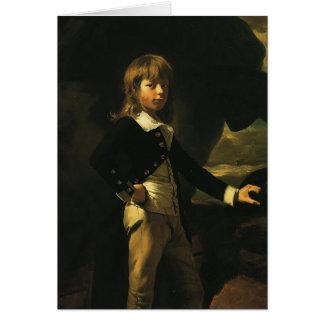 John Singleton Copley-  Midshipman Augustus Brine Greeting Card