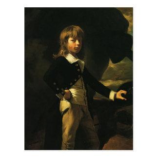 John Singleton Copley-  Midshipman Augustus Brine Postcard