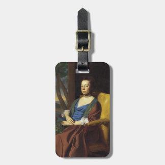 John Singleton Copley- Mrs. Isaac Smith Tags For Bags