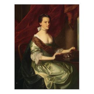 John Singleton Copley- Mrs.Theodore Atkinson Jr Postcard