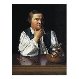John Singleton Copley-  Paul Revere Postcard