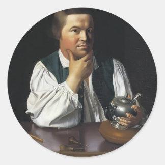 John Singleton Copley-  Paul Revere Sticker