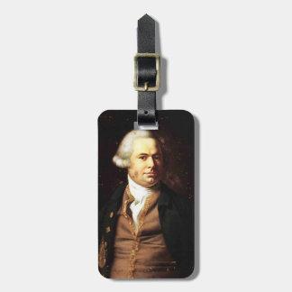 John Singleton Copley-  Portrait of a Gentleman Travel Bag Tags