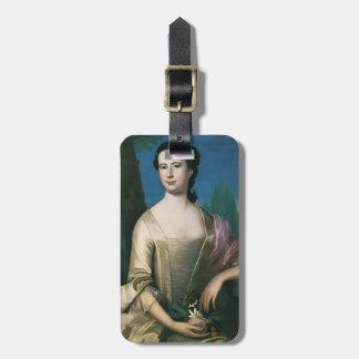 John Singleton Copley-  Portrait of a Woman Luggage Tags