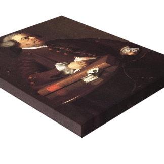 John Singleton Copley-Portrait of Nathaniel Allen Canvas Print