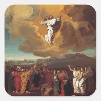 John Singleton Copley-  The Ascension Square Sticker