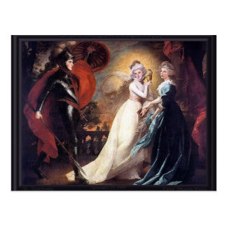 John Singleton Copley- The Red Cross Knight Postcard