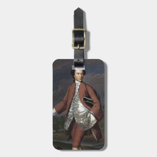 John Singleton Copley-  Theodore Atkinson Jr Travel Bag Tags