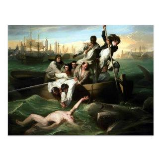 John Singleton Copley- Watson and the Shark Postcard