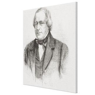 John Slidell, 1861 Canvas Print