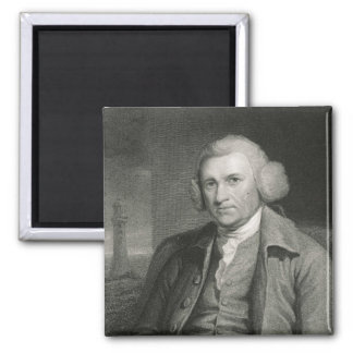 John Smeaton  from 'Gallery of Portraits' 2 Inch Square Magnet
