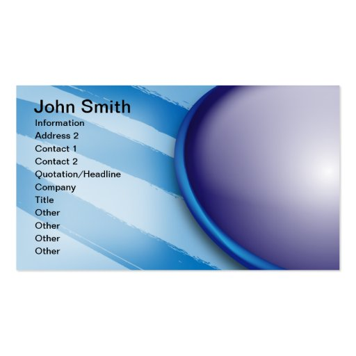 John Smith Business Card Template
