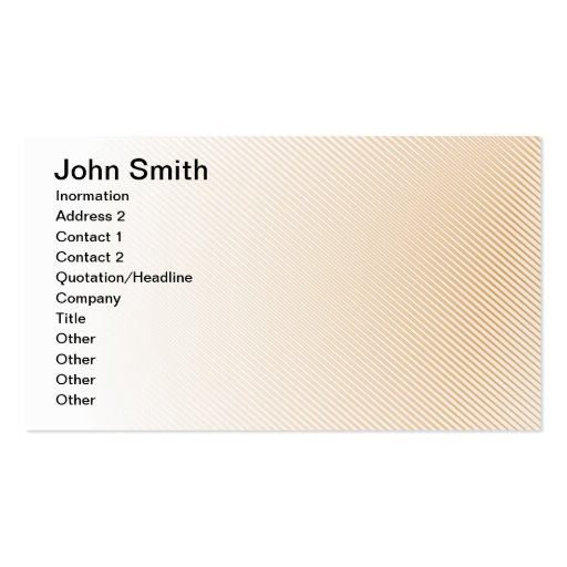 John Smith Tarjetas De Visita
