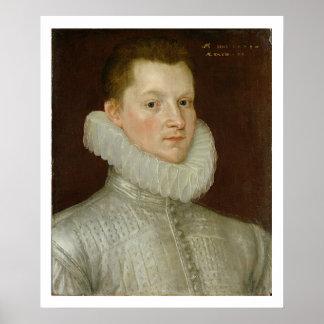 John Smythe of Ostenhanger (now Westenhanger) Kent Poster
