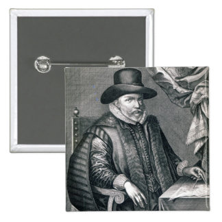 John Speed, published by George Humble, 1632 Pinback Button