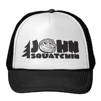 john squatchin trucker trucker hat